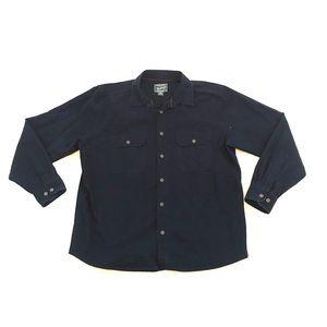 Woolrich Button Down Shirt Long Sleeve Mens XL